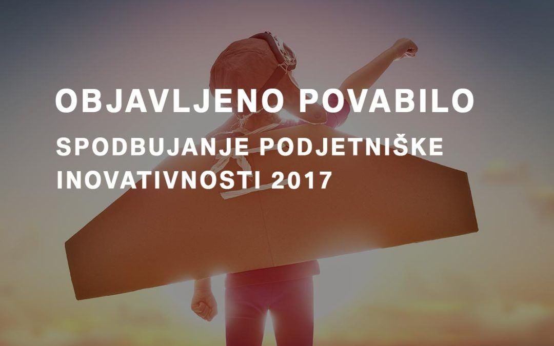 Spodbujanje podjetniške inovativnosti 2017