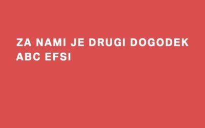 Dogodek ABC EFSI