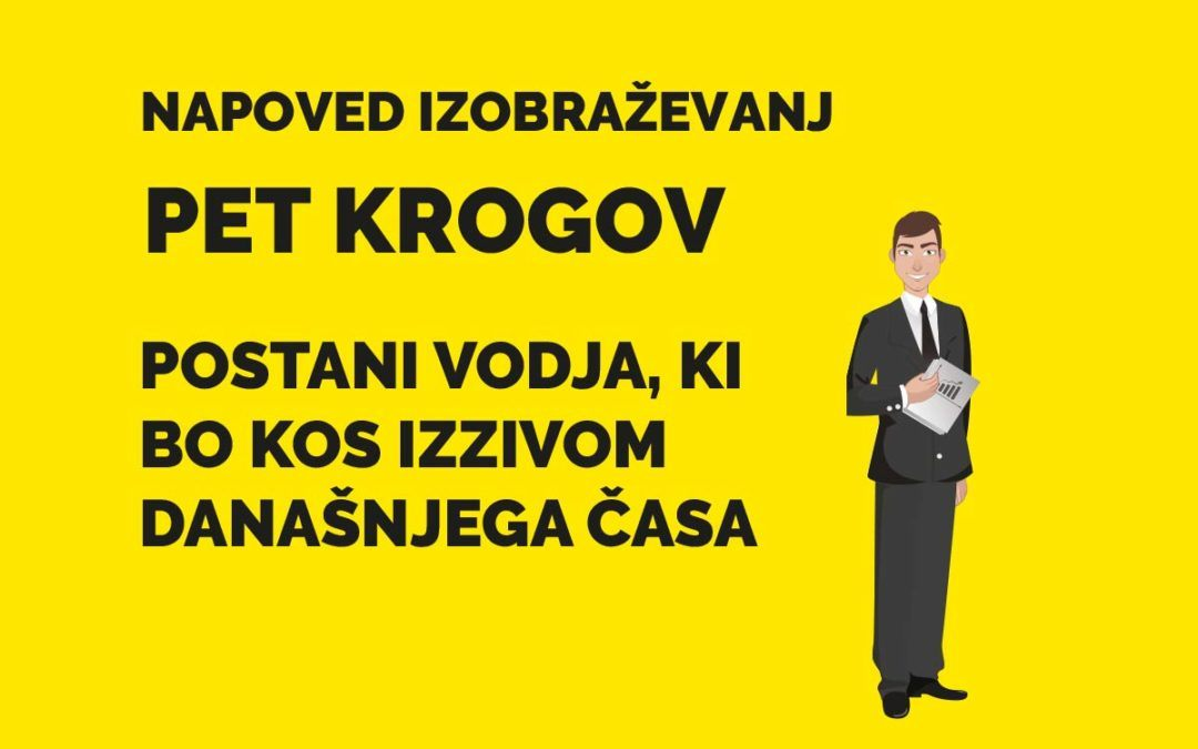 PET KROGOV – program za vodje