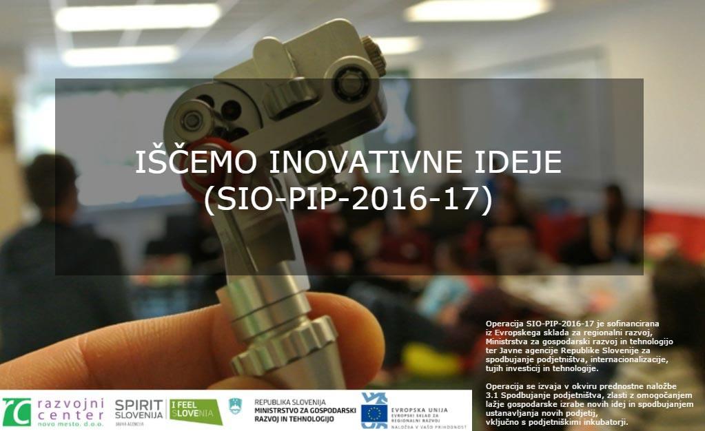 Posameznike ali ekipe s podjetniškimi idejami vabimo, da se nam pridružite v PIP