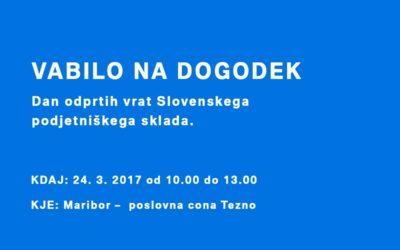 Dan odprtih vrat Slovenskega podjetniškega sklada