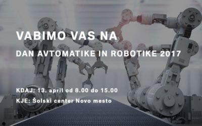Dan avtomatike in robotike 2017
