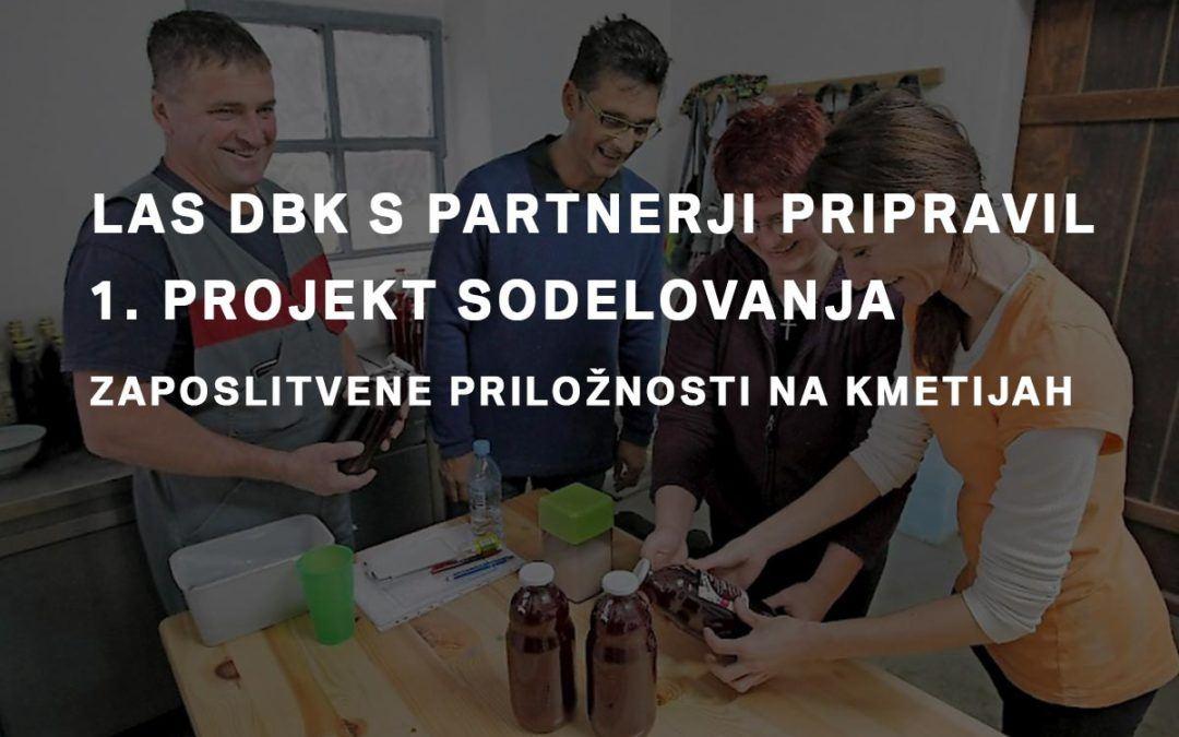 LAS DBK s partnerji pripravil 1. projekt sodelovanja