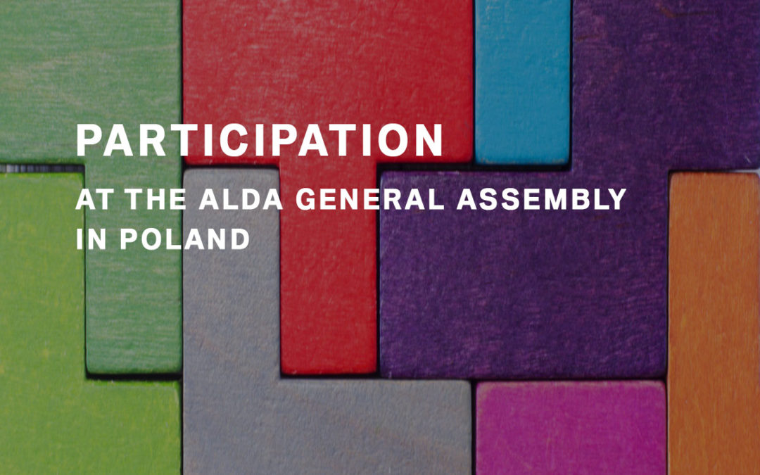 Participation at the ALDA General Assembly in Poland