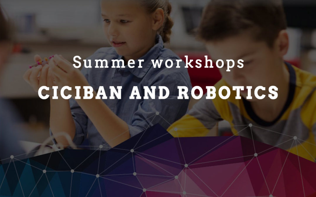 Summer workshops Ciciban and robotics