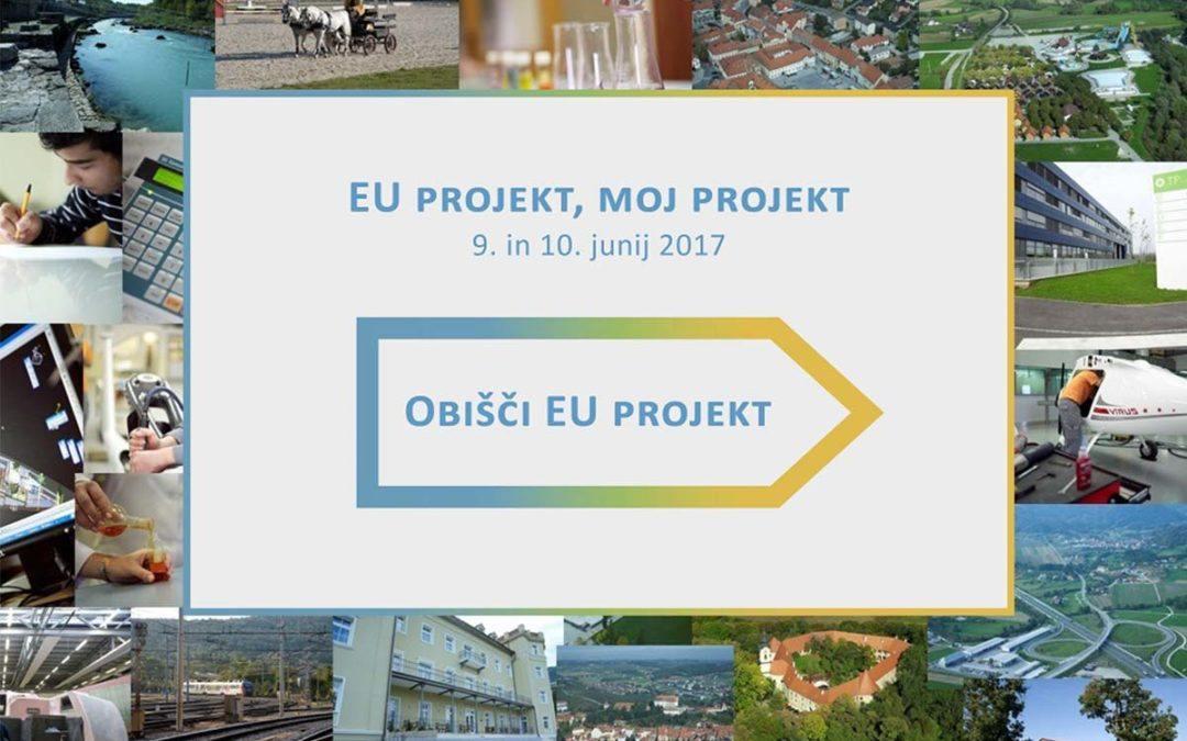 Znani zmagovalci glasovanja za EU projekt, moj projekt