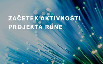 Začetek aktivnosti projekta Rune