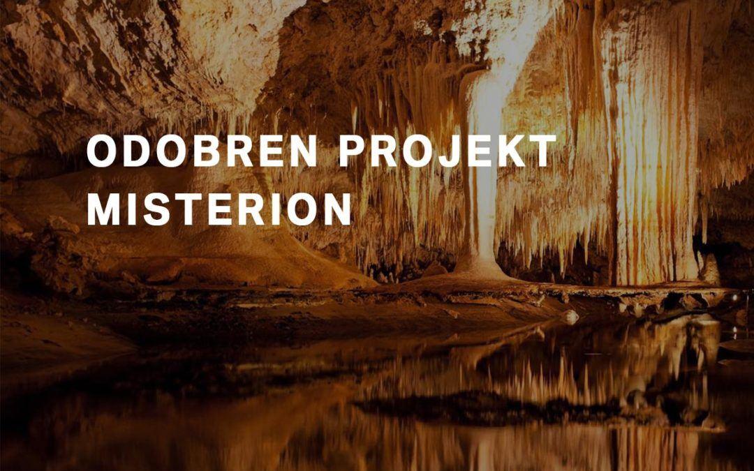Odobren projekt MISTERION