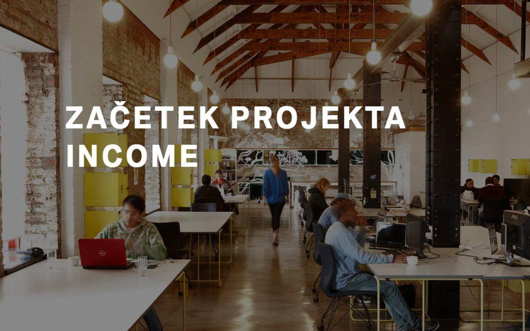 Začetek projekta INCOME