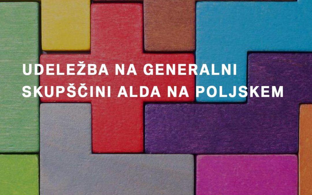 Udeležba na generalni skupščini ALDA na Poljskem
