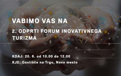 2. Odprti forum inovativnega turizma