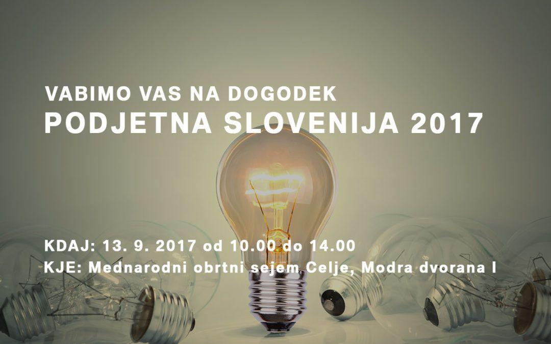 Vabimo vas na dogodek Podjetna Slovenija 2017