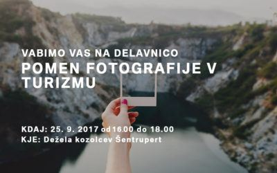Delavnica: Pomen fotografije v turizmu