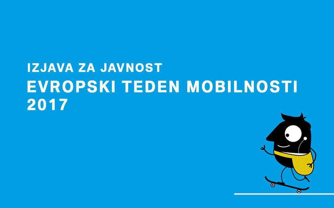 Evropski teden mobilnosti 2017