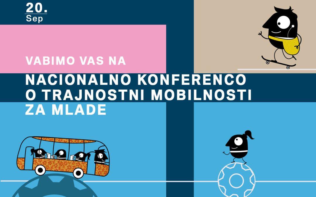 Nacionalna konferenca o trajnostni mobilnosti za mlade