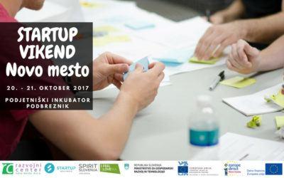 Prijavi se na oktobrski startup vikend Novo mesto