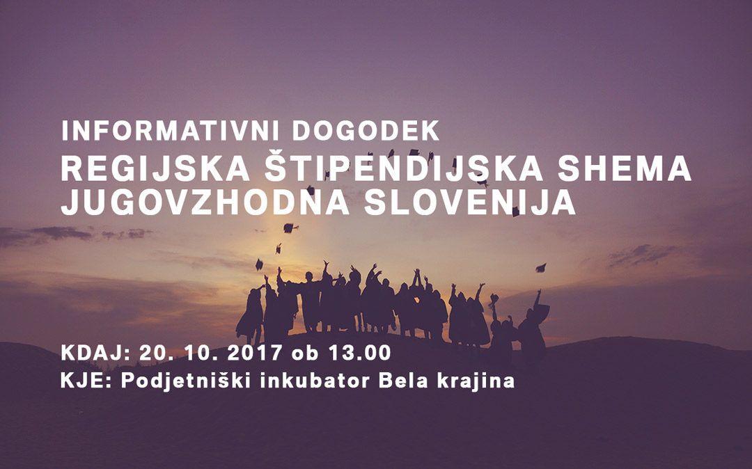 Informativni dogodek: RSŠ JV Slovenija