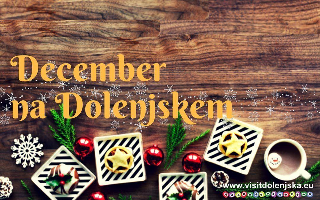 Koledar dogodkov: December na Dolenjskem