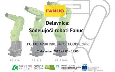 Delavnica: Sodelujoči roboti Fanuc
