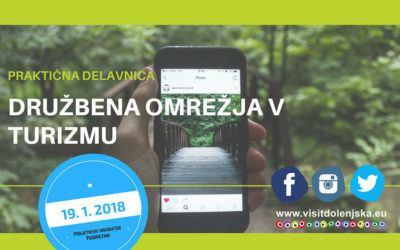 Praktična delavnica: Družbena omrežja v turizmu