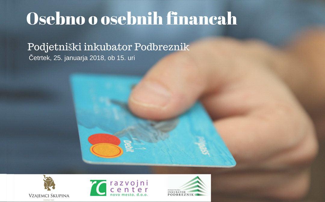 Seminar: Osebno o osebnih financah