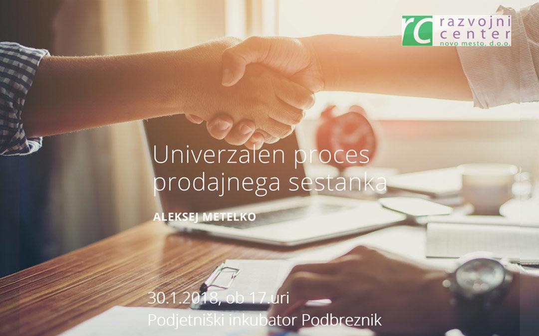 Seminar: Univerzalen proces prodajnega sestanka