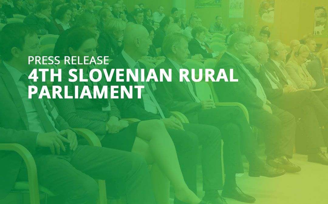 4th Slovenian Rural Parliament: Successfully finalized