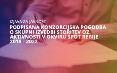 SPOT regije – podpisana konzorcijska pogodba