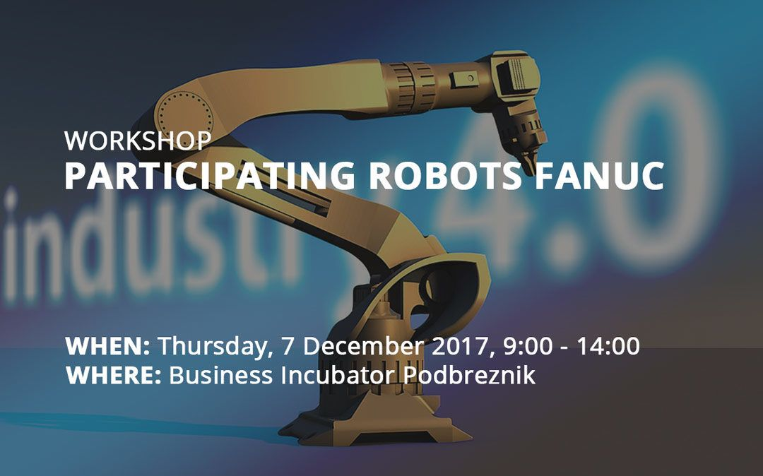 Workshop: Participating Robots Fanuc
