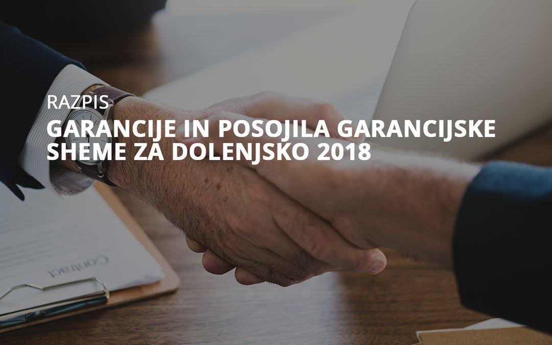 GSD razpis 2018