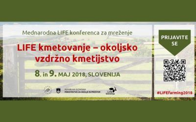 Mednarodna LIFE konferenca za mreženje 2018