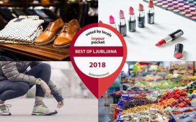 Dobrote Dolenjske nominirane v izboru Best Of Shopping in Ljubljana 2018