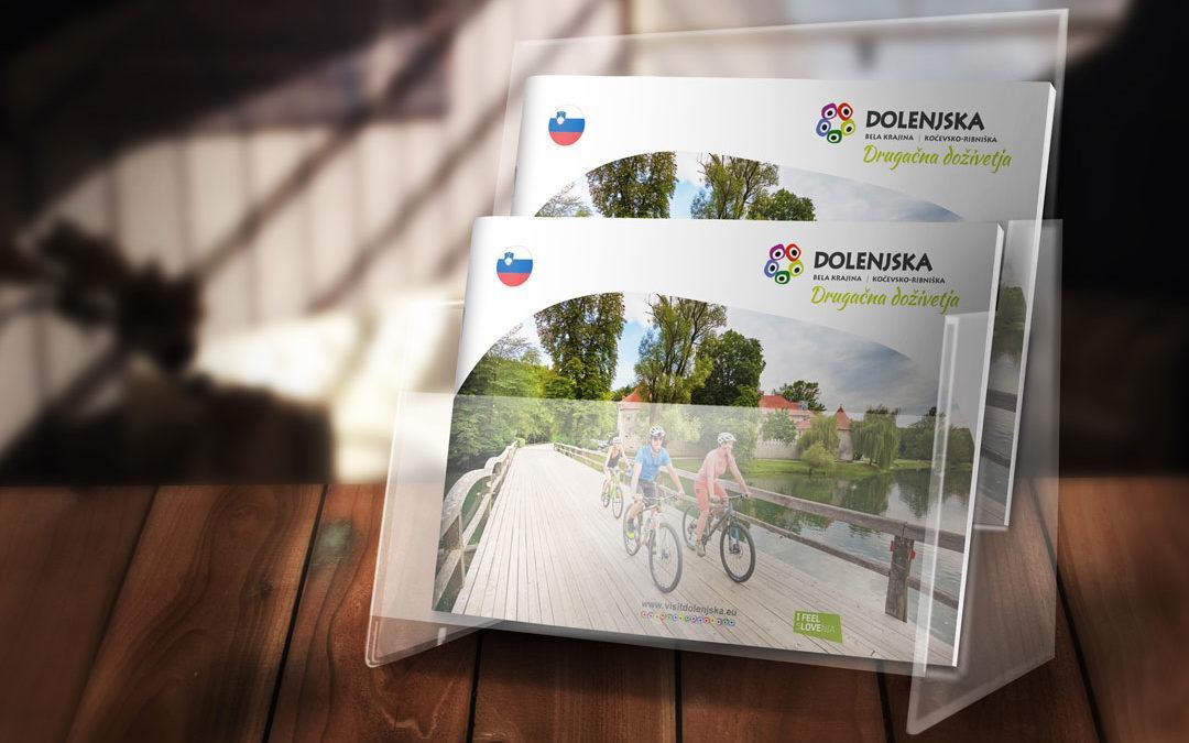 Katalog »Dolenjska, drugačna doživetja« že na policah