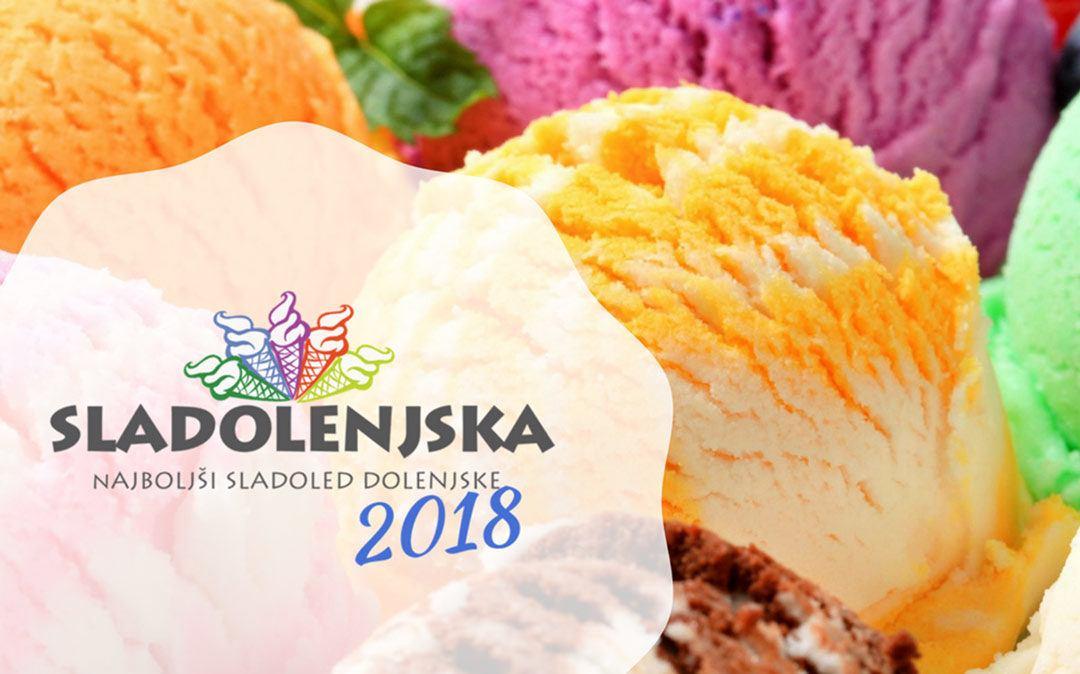 Iščemo najboljši sladoled Dolenjske 2018