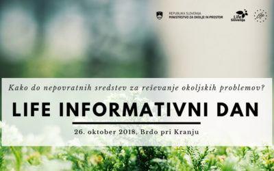 LIFE informativni dan
