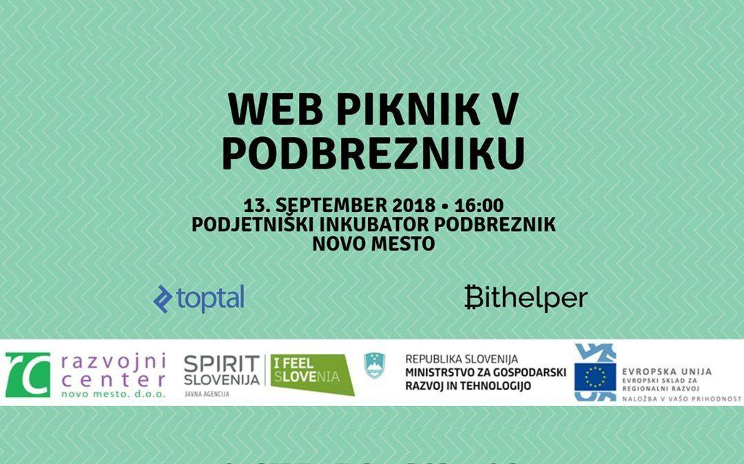 Web piknik v Podbrezniku