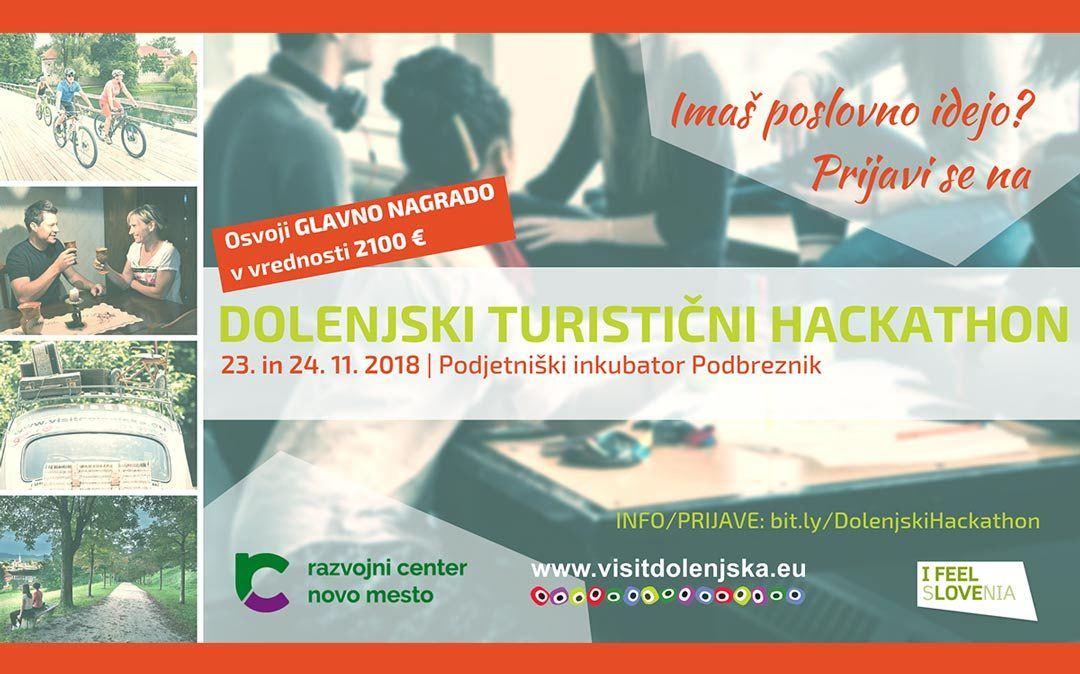 Dolenjski turistični hackathon