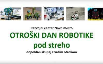 Prvi otroški dan robotike uspel