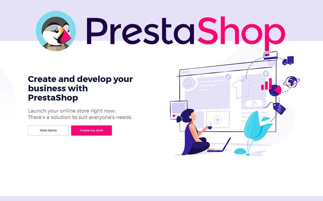 Brezplačno izobraževanje: Odprtokodna rešitev za postavitev spletne trgovine PrestaShop