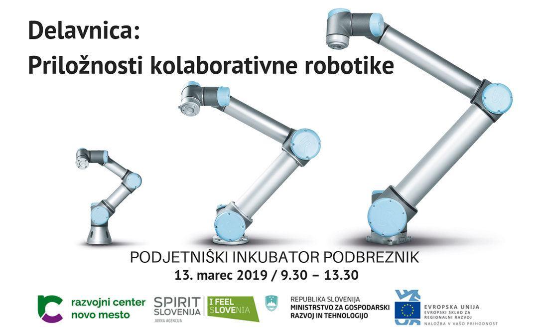 Delavnica: Priložnosti kolaborativne robotike