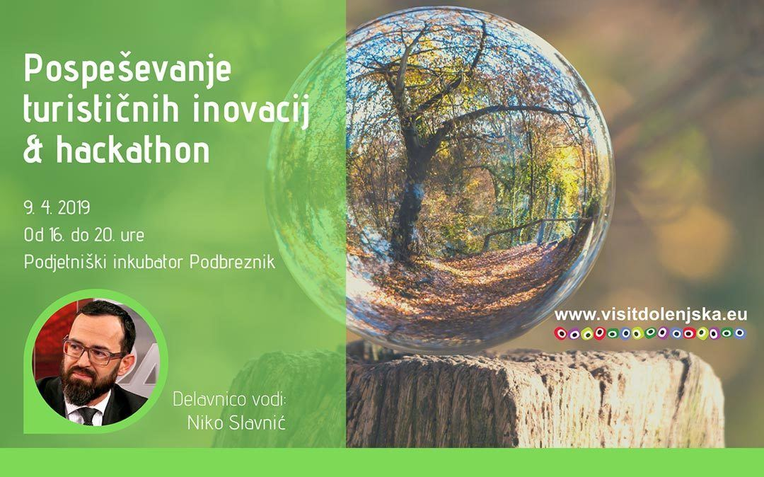Delavnica: Pospeševanje turističnih inovacij & Hackathon