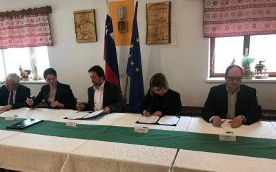 Krošnjarska kolesarska pot bo pokrila »belo liso« dela regije JV Slovenija in dela Primorsko-notranjske regije