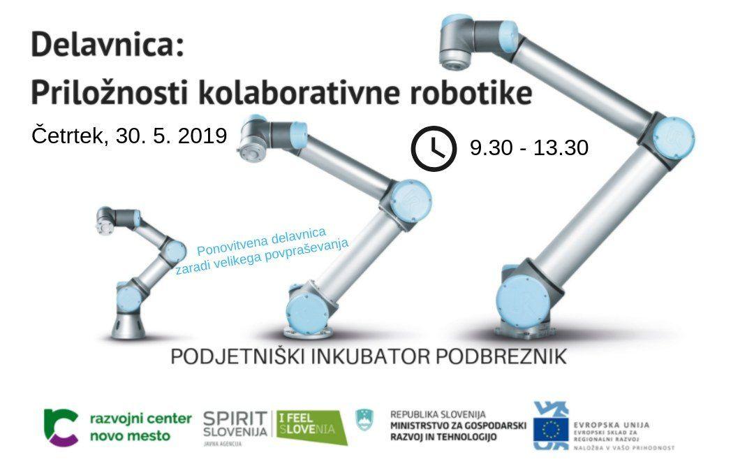Brezplačna delavnica: Priložnosti kolaborativne robotike