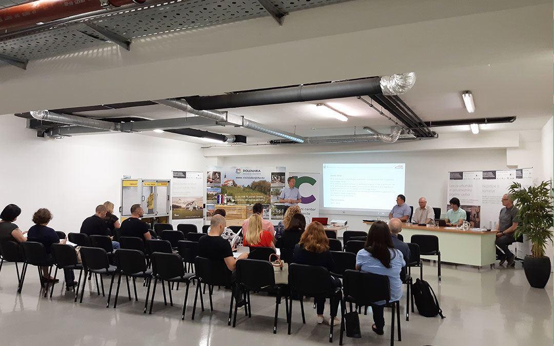 Delavnica Metodologija popisa poslovnih con in subjektov inovativnega okolja za območje Slovenije