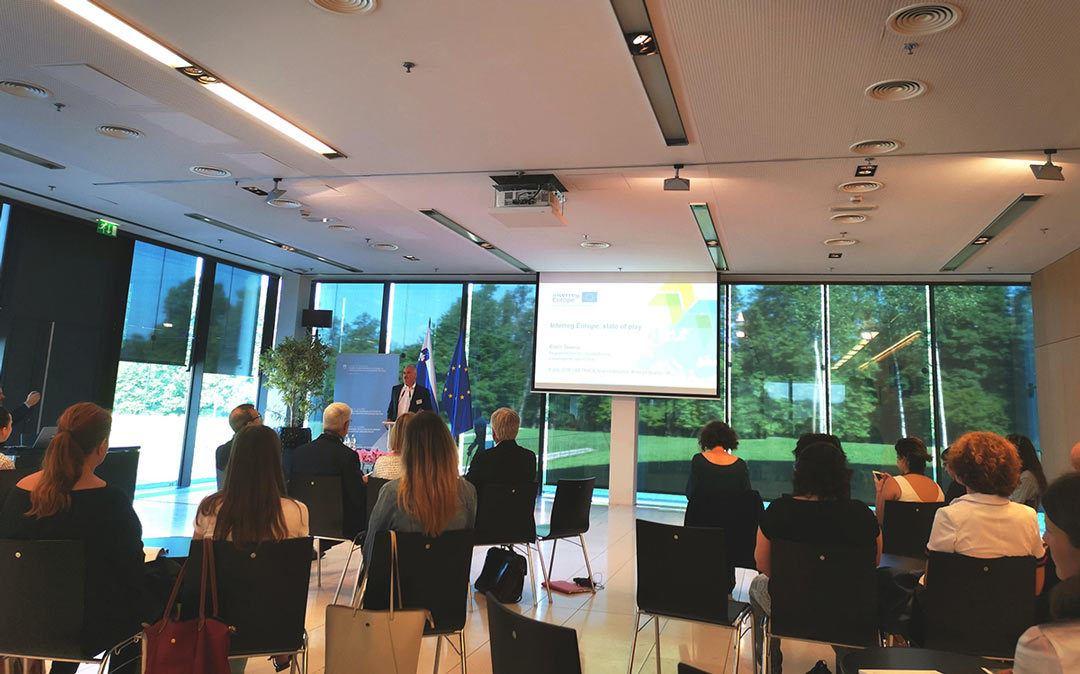 Mednarodna konferenca »Sistemsko oblikovanje za krožne politike« na Brdu pri Kranju
