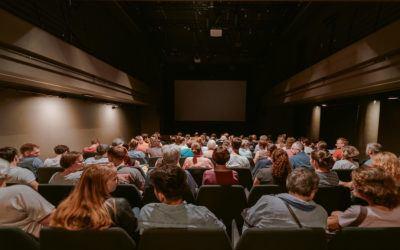 Preko 300 ljubiteljev filma prišlo na svoj račun