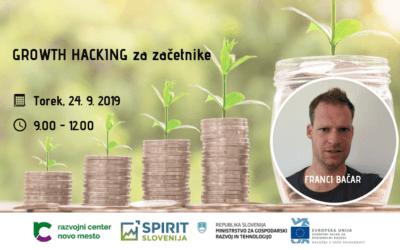 Brezplačna delavnica: Growth hacking za začetnike