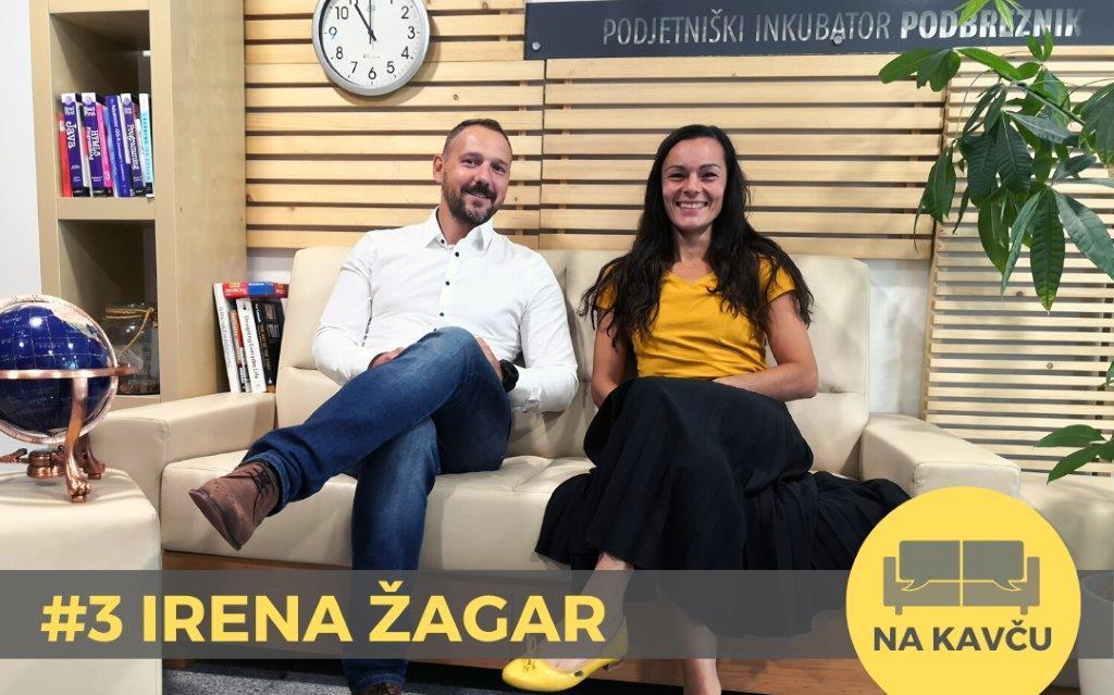 Na kavču #3 – Irena Žagar