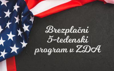 Brezplačni 5-tedenski program v ZDA
