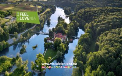 Prostore Slovenske turistične organizacije krasi fotografija Otočca